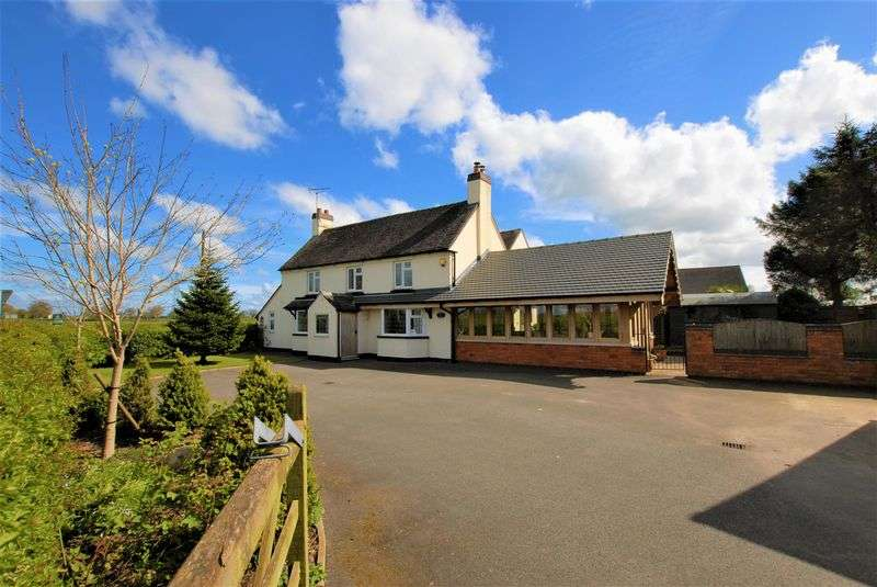 3 Bedrooms Detached House for sale in Quee Lane, Willslock, Uttoxeter