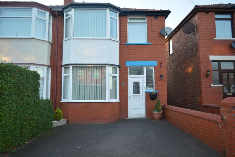 3 Bedrooms Semi Detached House for sale in Dryburgh Avenue, Stanley Park, Blackpool, FY3 9RH