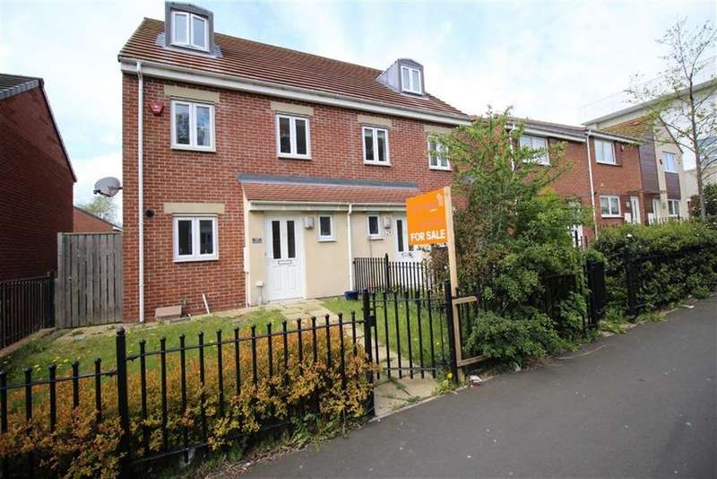 3 Bedrooms Town House for sale in White Swan Close, Newcastle Upon Tyne