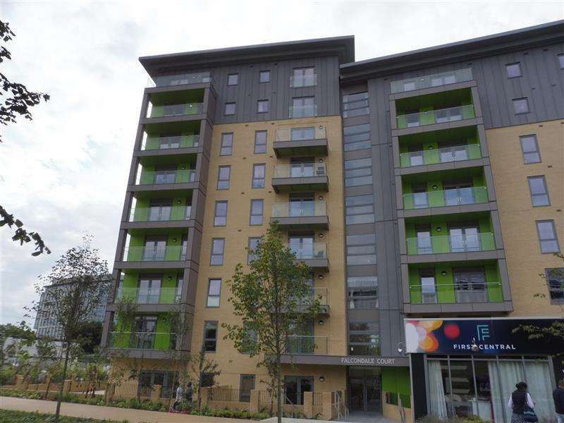 2 Bedrooms Flat for sale in Falcondale Court, Lakeside Drive, Park Royal NW10
