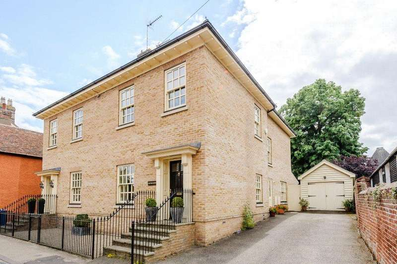 4 Bedrooms Semi Detached House for sale in Duke Street, Hadleigh, Ipswich, Suffolk, IP7