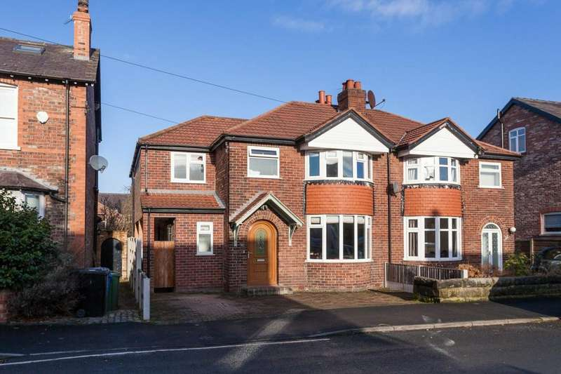 4 Bedrooms Semi Detached House for sale in Hermitage Road, Hale