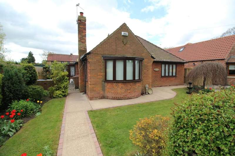 2 Bedrooms Detached Bungalow for sale in Treeton Road, Howden, DN14