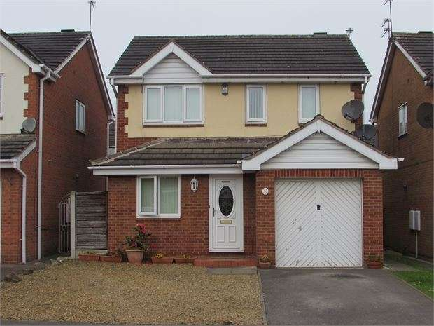 3 Bedrooms Detached House for sale in Arlott Way, New Edlington, Doncaster, DN12 1SU