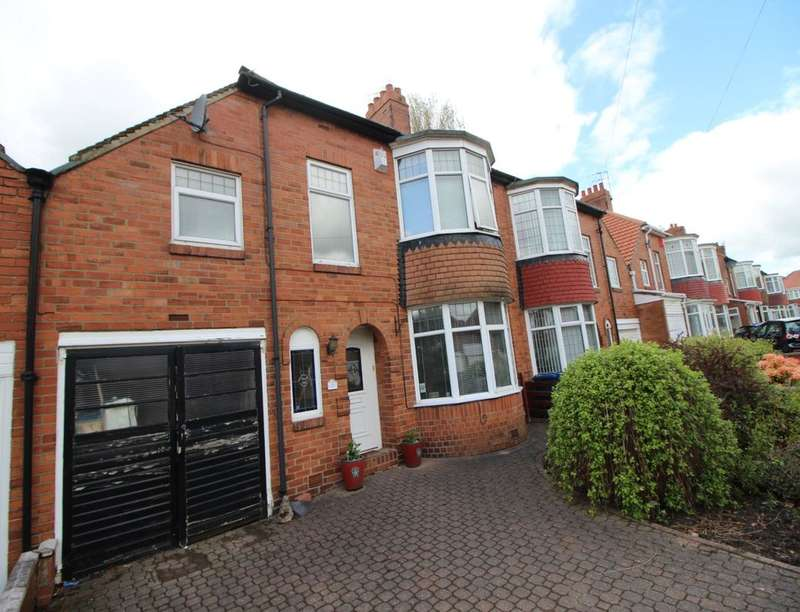 3 Bedrooms Semi Detached House for sale in St. Julien Gardens, Heaton, Newcastle Upon Tyne, NE7
