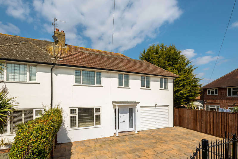 5 Bedrooms Semi Detached House for sale in Grasmere Avenue, London, SW15
