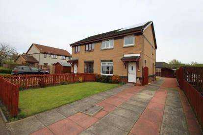 3 Bedrooms Semi Detached House for sale in Tollerton Drive, Irvine, North Ayrshire