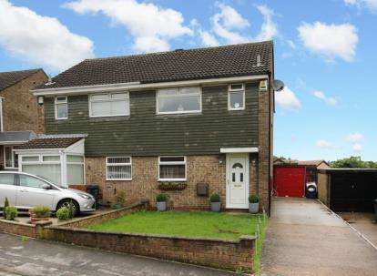 3 Bedrooms Semi Detached House for sale in Linnet Mount, Thorpe Hesley, Rotherham, South Yorkshire