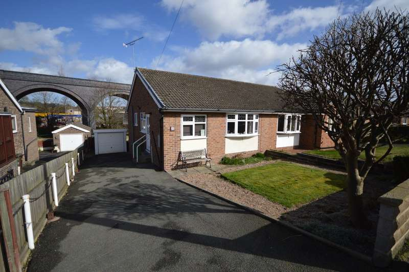 2 Bedrooms Semi Detached Bungalow for sale in Water Lane, Middlestown