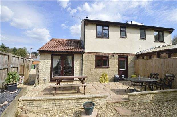 2 Bedrooms Semi Detached House for sale in Stanley View, Dudbridge, Stroud, Gloucestershire, GL5 3NJ