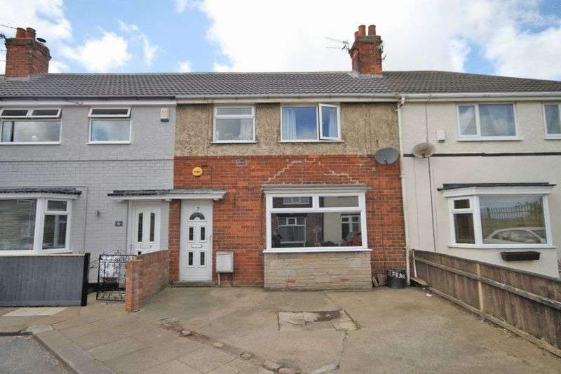 3 Bedrooms Terraced House for sale in ST FRANCIS AVENUE, GRIMSBY