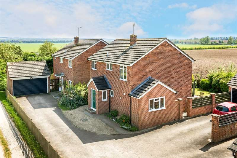 4 Bedrooms Detached House for sale in Gravel Lane, Warborough, Wallingford, Oxfordshire, OX10