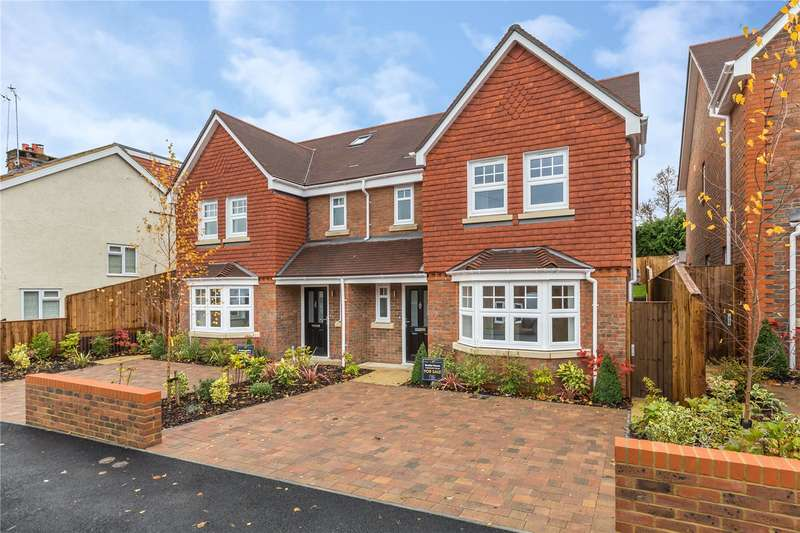 4 Bedrooms Semi Detached House for sale in Poet's Chase, 46-48 Cross Way, Harpenden, Hertfordshire, AL5