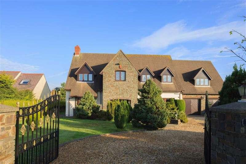 5 Bedrooms Detached House for sale in Brickhurst Park, Johnston, Haverfordwest