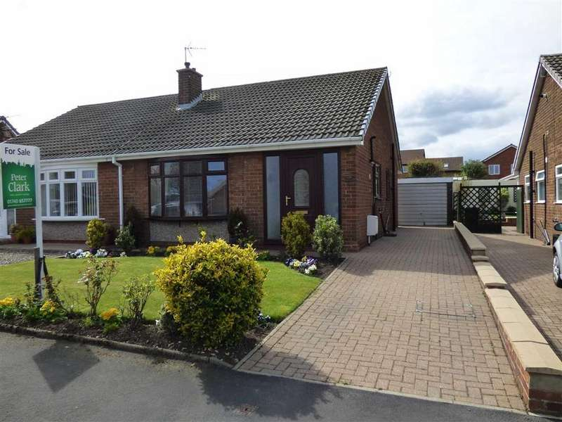 2 Bedrooms Semi Detached Bungalow for sale in 9, Walworth Road, Ferryhill