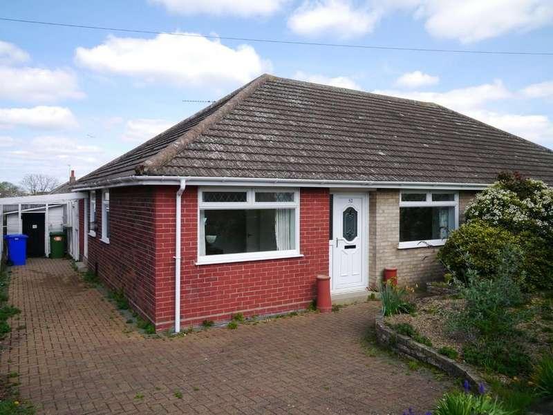 3 Bedrooms Semi Detached Bungalow for sale in Merrifield Road, Pakefield, Lowestoft