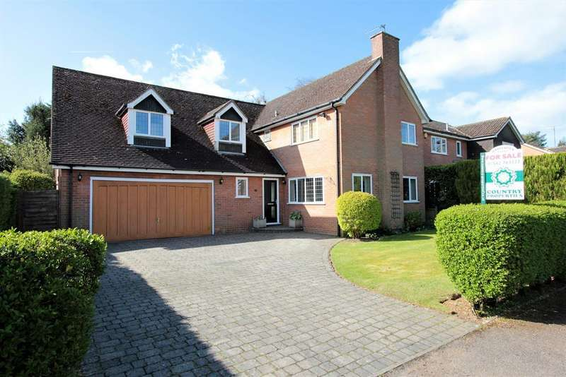 5 Bedrooms Detached House for sale in Beech Way, Blackmore End, Wheathampstead , AL4 8LY
