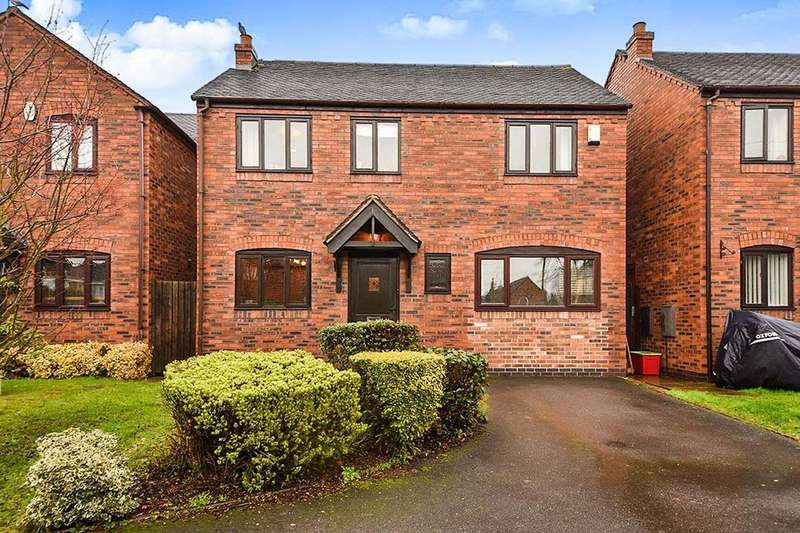 4 Bedrooms Detached House for sale in Main Street, Rosliston, Swadlincote, DE12