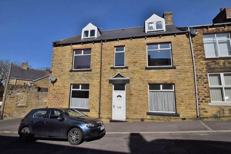 4 Bedrooms End Of Terrace House for sale in Stephen Street, Consett, Co. Durham
