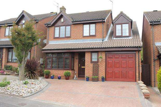 4 Bedrooms Detached House for sale in Emmer Green, Luton, LU2