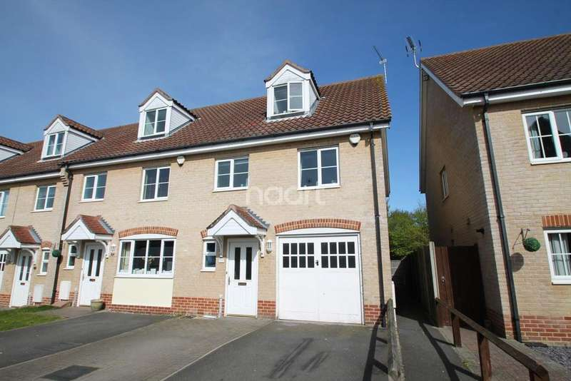 3 Bedrooms End Of Terrace House for sale in Oulton Broad
