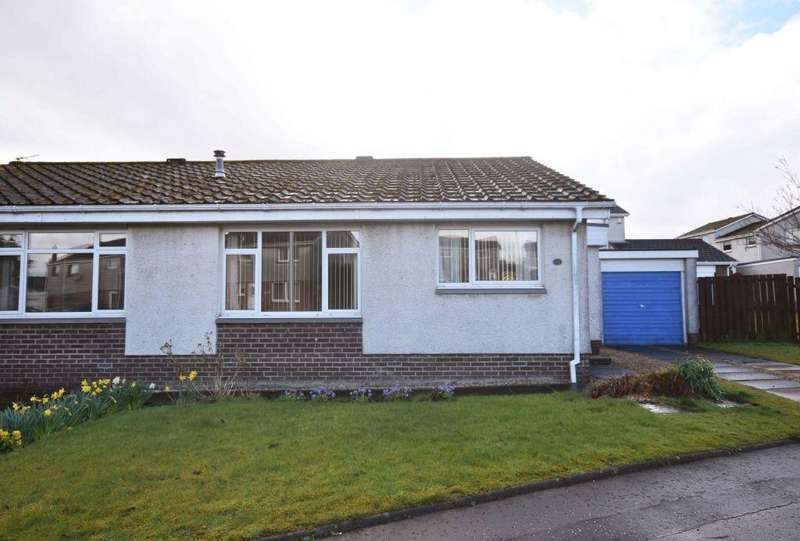 2 Bedrooms Semi Detached House for sale in 10 The Glebe, West Calder, EH55 8BN