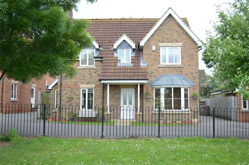 4 Bedrooms Detached House for sale in Spring Field Close, Sigglesthorne, East Riding of Yorkshire