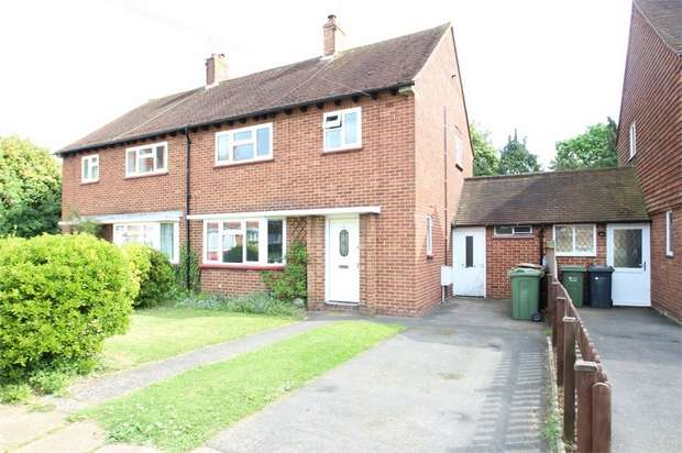3 Bedrooms Semi Detached House for sale in Maytree Close, GUILDFORD, Surrey