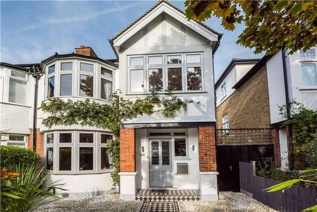 4 Bedrooms Semi Detached House for sale in St Margarets Road, St Margarets, Twickenham