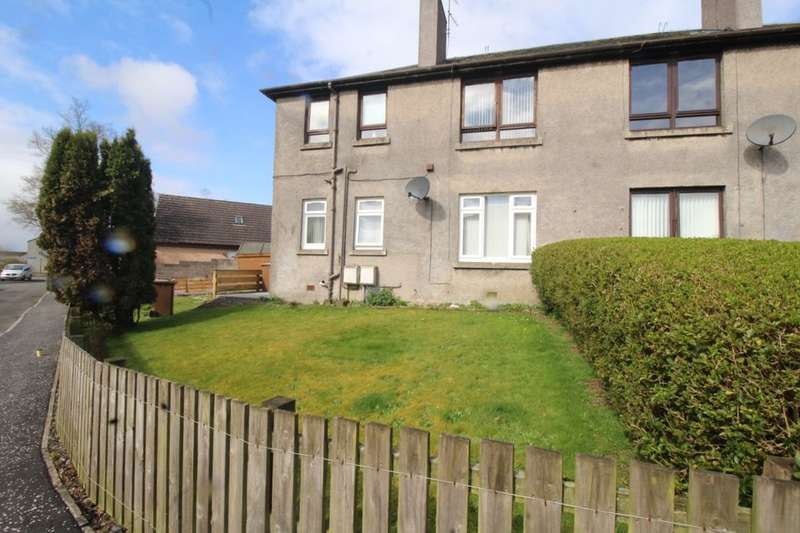 2 Bedrooms Flat for sale in Ogilvy Crescent, Fauldhouse, Bathgate, EH47