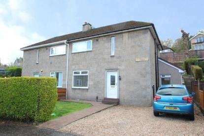 3 Bedrooms Semi Detached House for sale in Stoneleigh Road, Greenock
