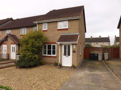3 Bedrooms End Of Terrace House for sale in Swallow Drive, Louth