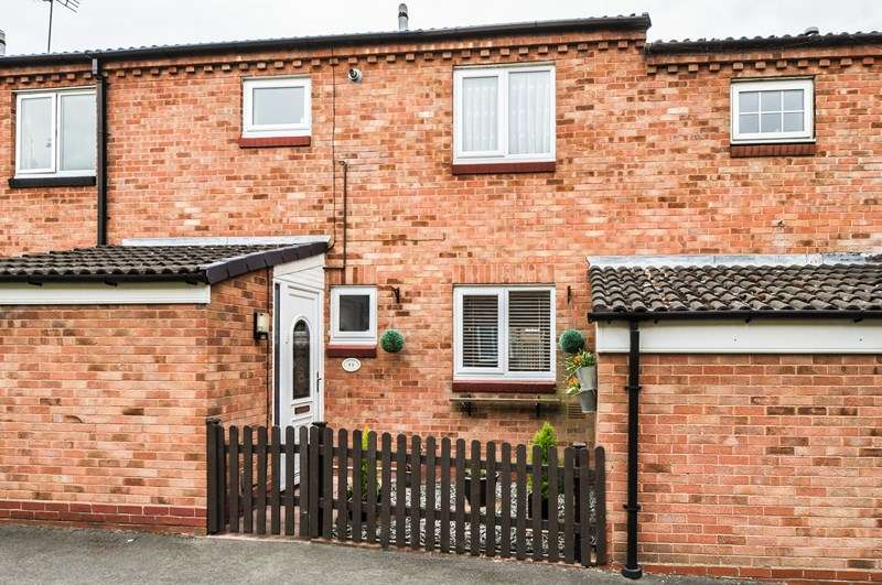 3 Bedrooms Terraced House for sale in Arley Close, Church Hill South, Redditch