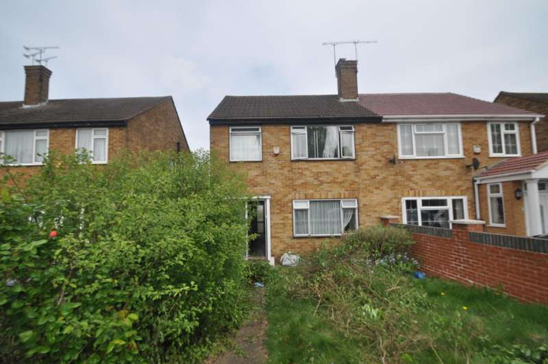 3 Bedrooms Semi Detached House for sale in Uxbridge Road, Hayes, Middlesex, UB4 0JQ