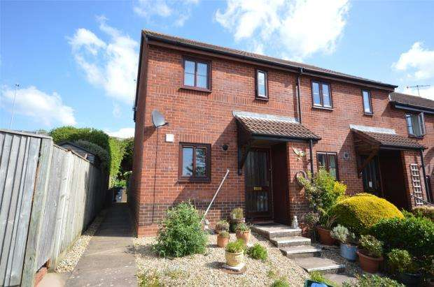 2 Bedrooms End Of Terrace House for sale in Chambers Close, Sidmouth, Devon