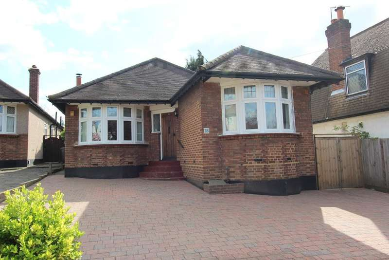 3 Bedrooms Detached Bungalow for sale in Felstead Road, Orpington, Kent, BR6 9AE