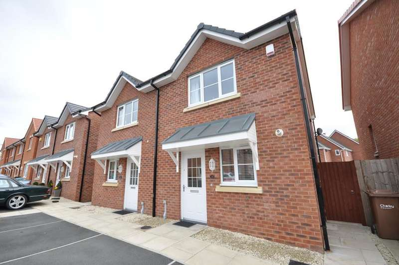 3 Bedrooms Semi Detached House for sale in Old Thorns Crescent, Buckshaw Village, Lancashire, PR7 7JP