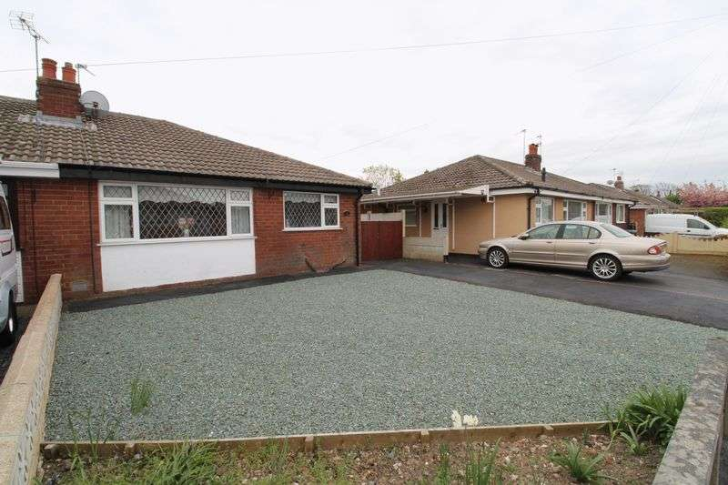 2 Bedrooms Semi Detached Bungalow for sale in Leyland Close, Banks, Southport