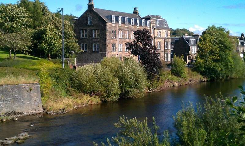 3 Bedrooms Apartment Flat for sale in Mansfield Mills House 12, Hawick, Roxburghshire, TD9