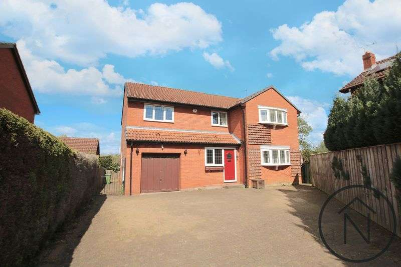 4 Bedrooms Detached House for sale in Menville Close, School Aycliffe