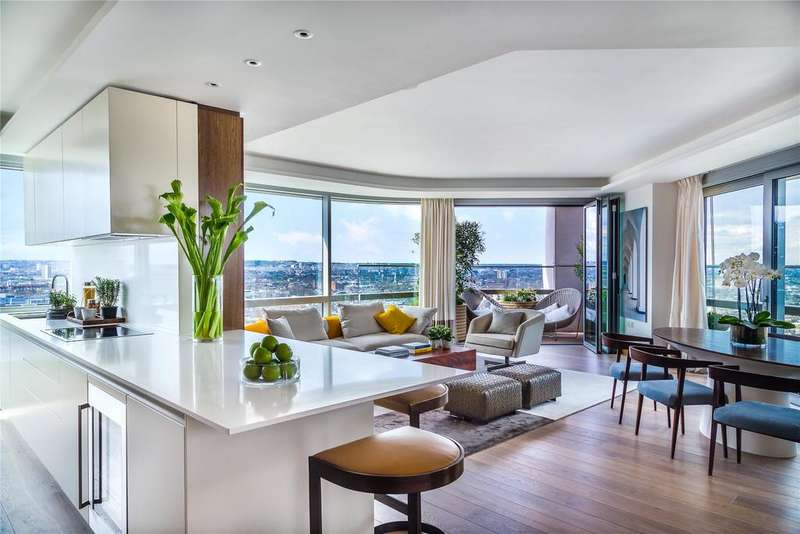 3 Bedrooms Penthouse Flat for sale in Canaletto, City Road, London, EC1V