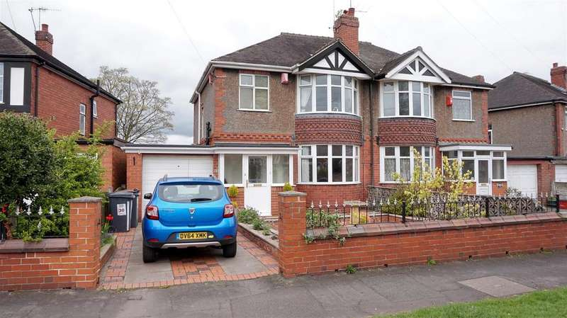3 Bedrooms Semi Detached House for sale in May Avenue, May Bank, Newcastle