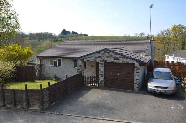 3 Bedrooms Detached Bungalow for sale in Pound Dean, Liskeard, Cornwall