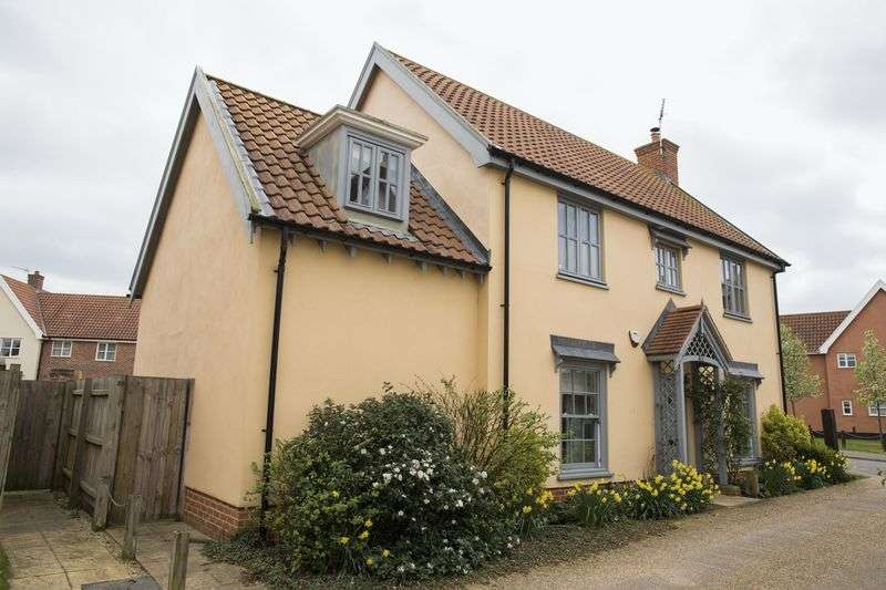 4 Bedrooms Detached House for sale in Elm Drive, Walsham Le Willows
