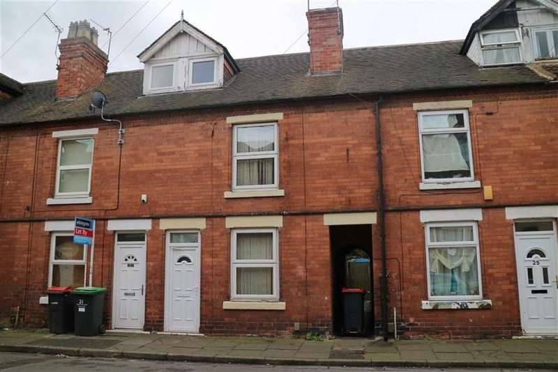 3 Bedrooms Terraced House for sale in 23, York Street, Sutton In Ashfield, Nottinghamshire, NG17