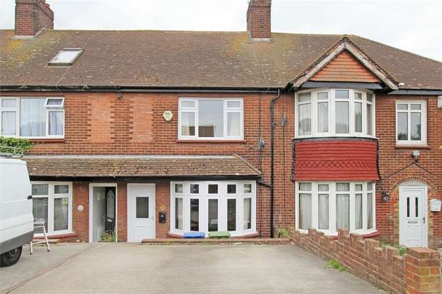 2 Bedrooms Terraced House for sale in Beechwood Avenue, Milton Regis, SITTINGBOURNE, Kent