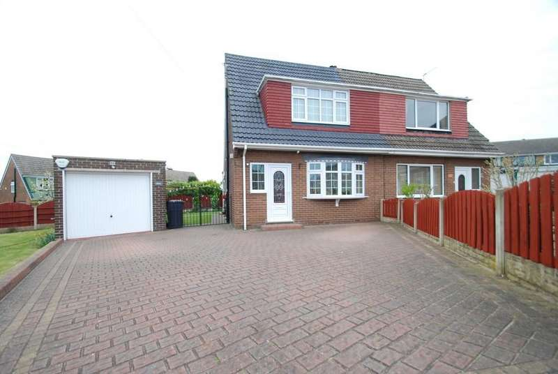 3 Bedrooms Semi Detached Bungalow for sale in Eastmoor Grove, Barnsley S71