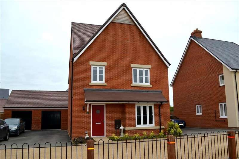 4 Bedrooms Detached House for sale in Darwin Drive, Biggleswade, Bedfordshire, SG18