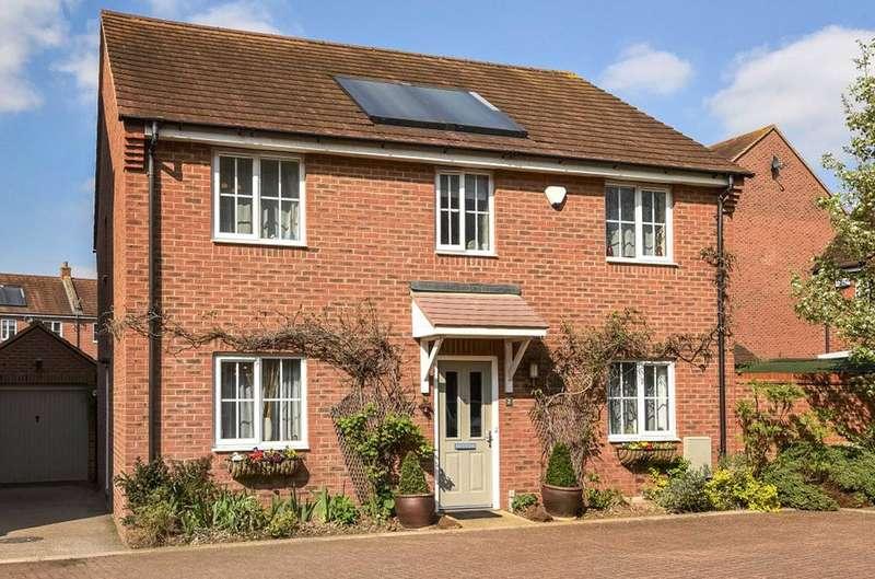 4 Bedrooms Detached House for sale in Tansley Lane, Woburn Sands, Milton Keynes, MK17