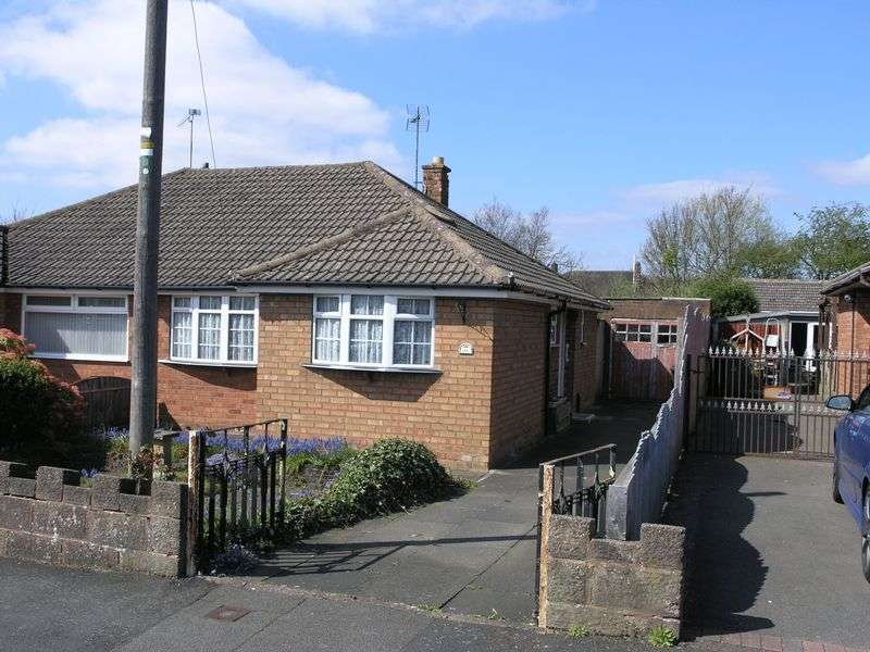 2 Bedrooms Semi Detached Bungalow for sale in Eaton Crescent, Lower Gornal